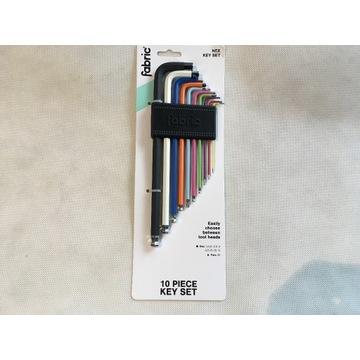 Klucze rowerowe Fabric 10 piece key set 2020
