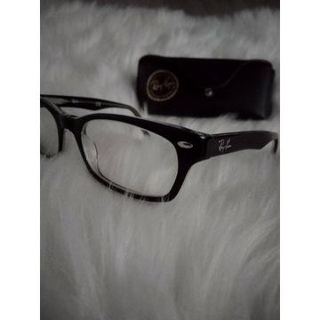 Okulary oprawki Ray Ban czarne 5228