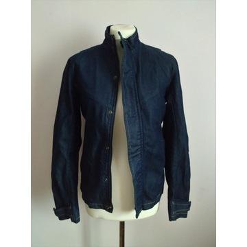 SISLEY Kurtka jeans wiatrówka 34/36 XS S
