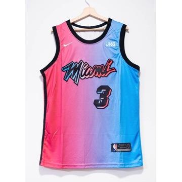 Koszulka NBA, koszykówka, Miami Heat, Wade, roz.L