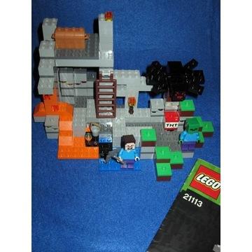 Lego Minecraft Jaskinia   (21113)