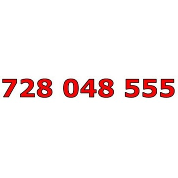 728 048 555 T-MOBILE ŁATWY ZŁOTY NUMER STARTER
