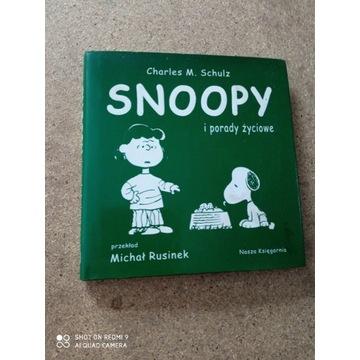 Książka Charles M. Schulz SNOOPY I PORADY ŻYCIOWE