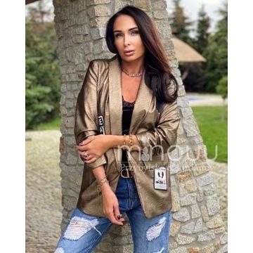 Marynarka Leather Sarah Gold minouu