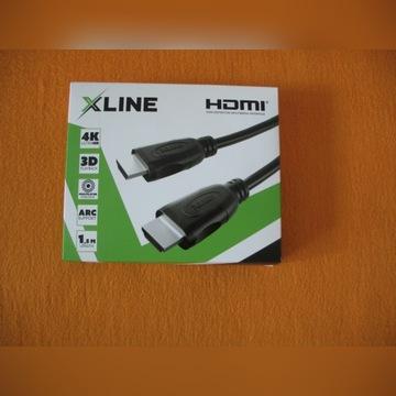 Kabel HDMI Gotze & Jensen X-Line 1,5 m nowy