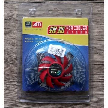 VGA Cooler Fan chłodzenie grafiki nVidia/ATi 2-PIN