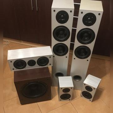 Głośniki KODA 5.1 kolumny kina domowego