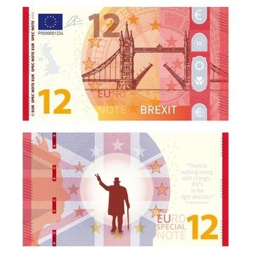 0 Euro Special Note Brexit nr 2 z 4