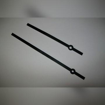 wskazówki Baton aluminiowe czarne do zegarów kwarc