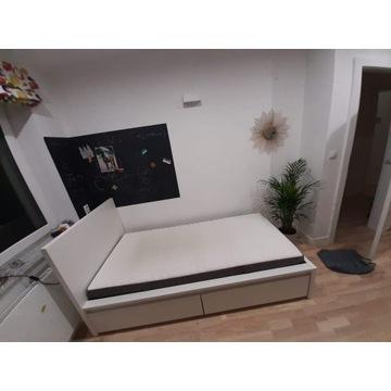 IKEA łóżko MALM + materac Hovag