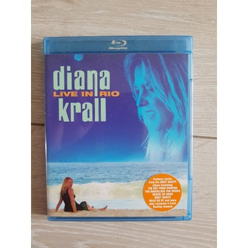 DIANA KRALL LIVE IN RIO BLU-RAY