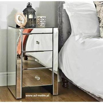 Nowoczesny stolik nocny szafka nocna glamour