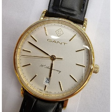 Nowy zegarek Gant 14k złoto okazja!