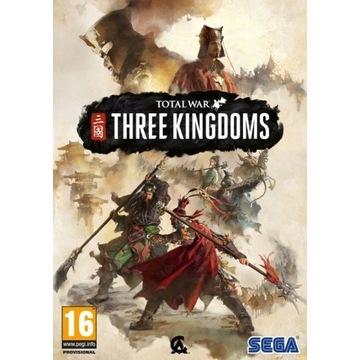Total War THREE KINGDOMS Steam kod