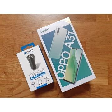 Smartfone OPPO A31 Czarny NOWY + Ładowarka USB