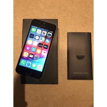 iPhone 5S 16gb bez blokad lekko pęknięty ekran