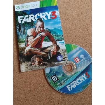FAR CRY 3, wersja pudełkowa PL, XBOX360
