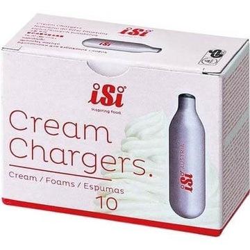 ISI Cream Chargers 10 sztuk