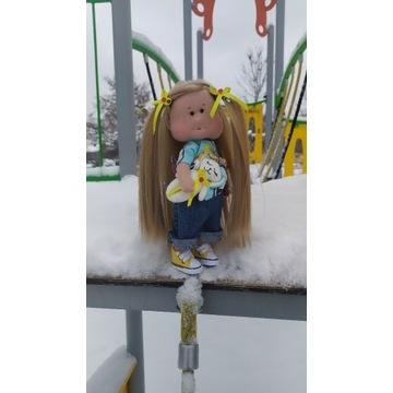 lalka hand made ręczne robiona