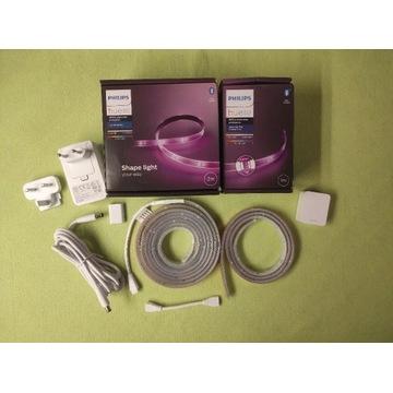Philips Hue Lightstrip v4 taśma RGB 2+1m Bluetooth