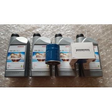 Olej silnikowy HONDA 0W/20 Type 2.0 + filtr oleju