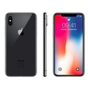 IPHONE X SPACE GREY 64GB STAN IDELANY