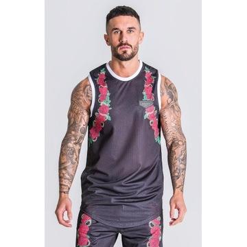 Gianni Kavanagh koszulka Black Racer Roses Vest M