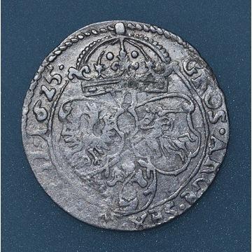 szóstak 1625, Kraków bardzo dobrze zachowany, poły