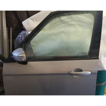 Drzwi lewe kompletne srebrne Ford Galaxy MK2+luste