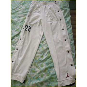 Spodnie dresowe Jordan białe L