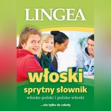 Sprytny słownik włos-pol. pol-włos Włoski