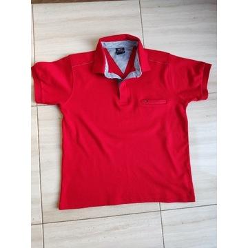 Koszulka polo Tommy Hilfiger czerwona rozmiar M