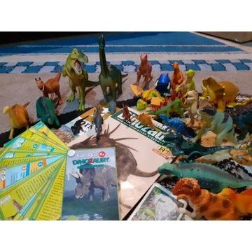 Dinozaury mega + gratis