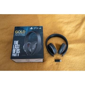 Słuchawki Sony Gold Wireless The Last of Us II