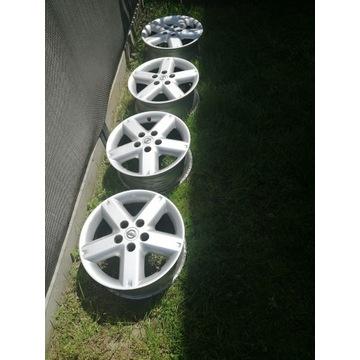 Felgi aluminiowe Nissan 16 5x112