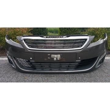 Zderzak Peugeot 308 t9, 14-17 4 pdc full led