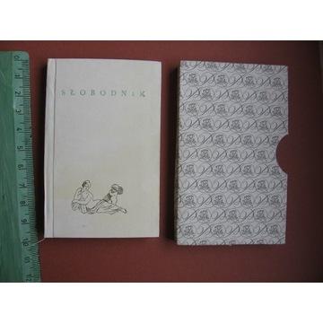 Poeci polscy Włodzimierz Słobodnik Miniatura 1984