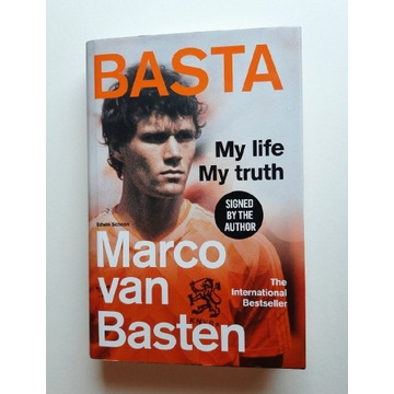 BASTA - Marco Van Basten my life, my truth książka