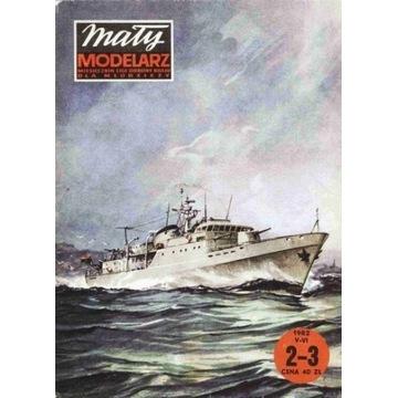 Mały Modelarz 1982 82 Eskortowiec Tobruk