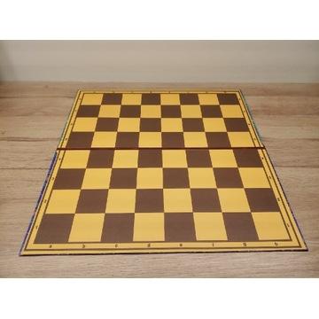 Składana szachownica tekturowa szachy