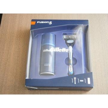 Gillette Fusion 5 -maszynka do golenia i żel