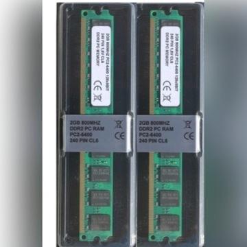 Pamięć RAM 2x2GB