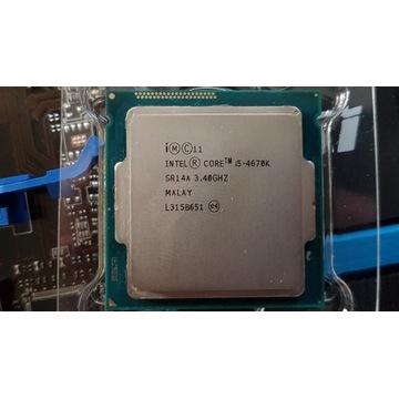 Zestaw komputerowy i5 4670K, 16 GB RAM DDR3