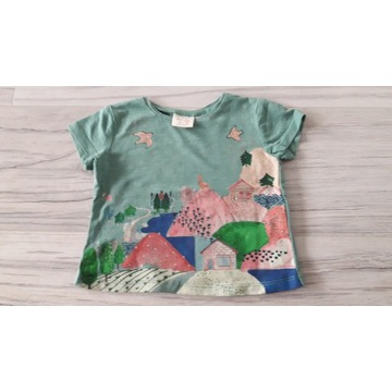 Bluzeczka na lato ZARA Baby, rozm. 68