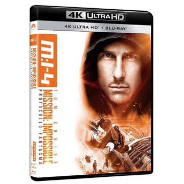 Mission Impossible Ghost Protocol - 4K UHD Blu-ray