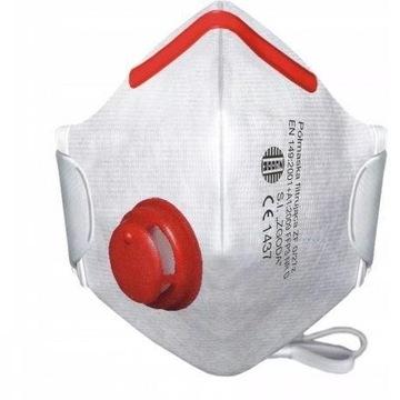 Maska Ochronna Przeciwpyłowa filtr FFP3 antywirus