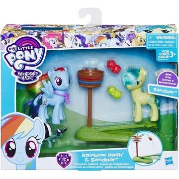 UNIKAT Sandbar i Rainbow Dash My Little Pony 8 cm