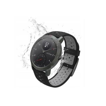 Withings Steel HR Sport zegarek smartwatch czarny