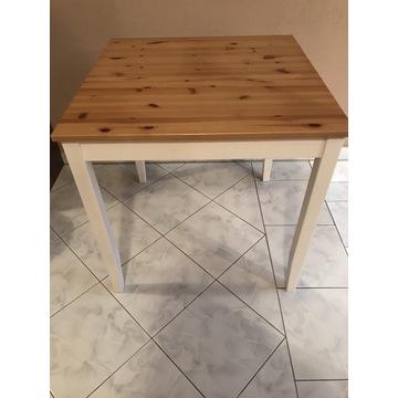 Sosnowy stolik do kuchni LERHAMN - IKEA