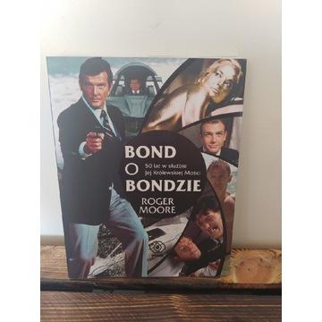 Bond o Bondzie 50 lat Roger Moore.  NOWA